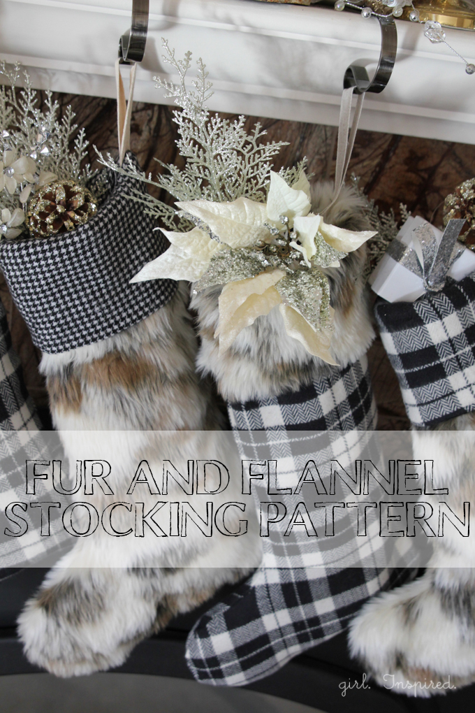 Fur and Flannel Holiday Stocking Pattern