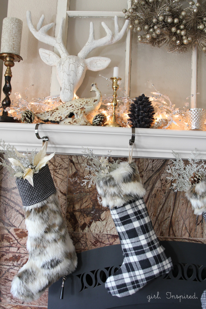 How to make fur and flannel holiday stockings