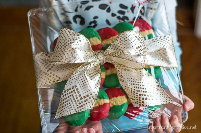 Great Gift Idea - DIY Christmas Cookie Platter