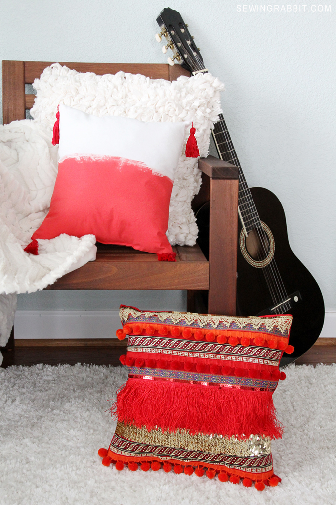 Make your own super cute DIY Pillow