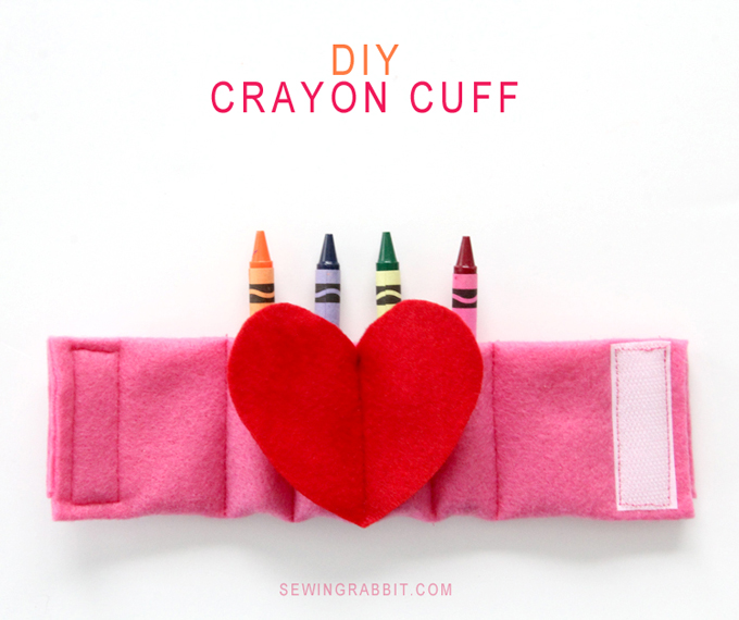 How to make your own DIY Crayon Cuff
