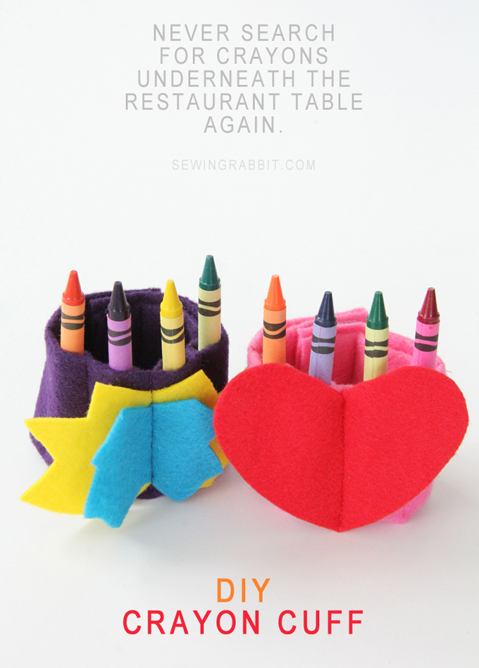 Never Search for Crayons Underneath a Restaurant Table Again