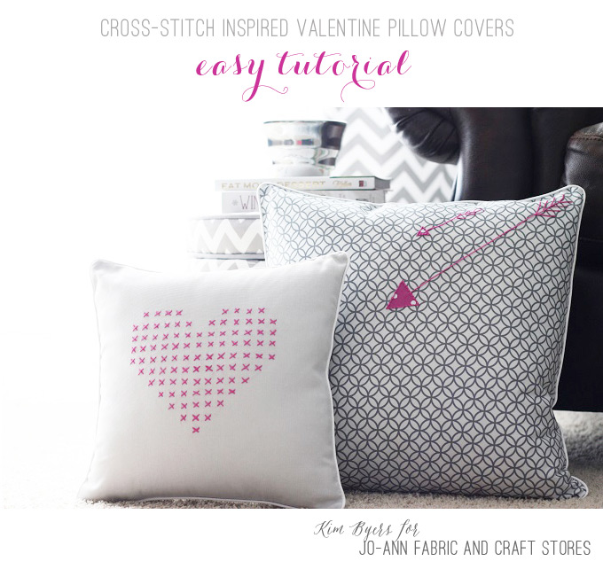 Easy DIY Cross-Stitch Pillow Tutorial