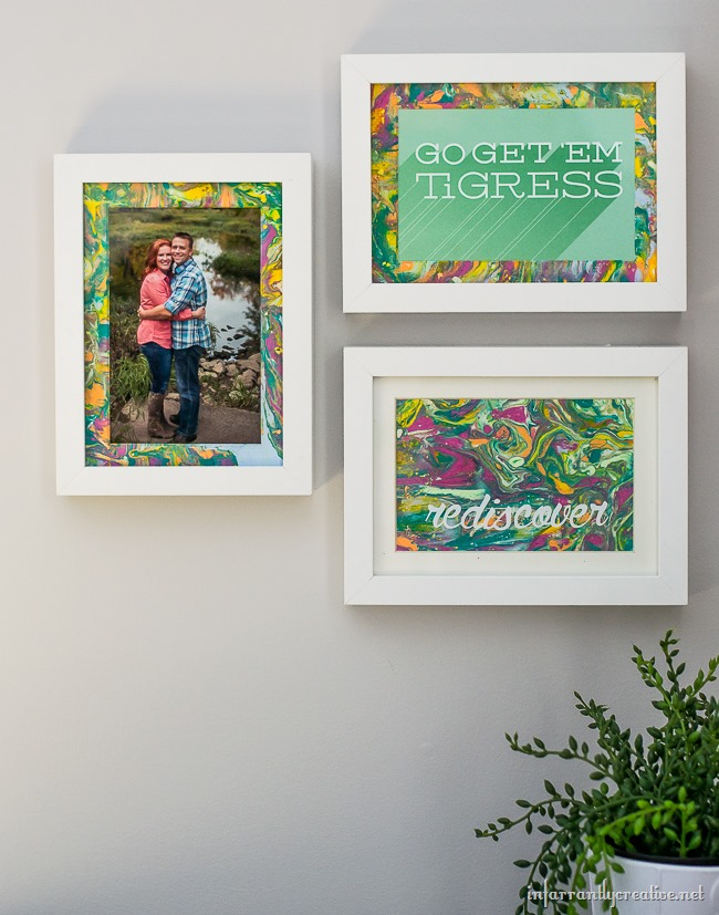 DIY Picture Frame Gallery Wall