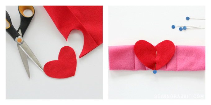 DIY Heart Cuff Valentine's Day Kid's Project