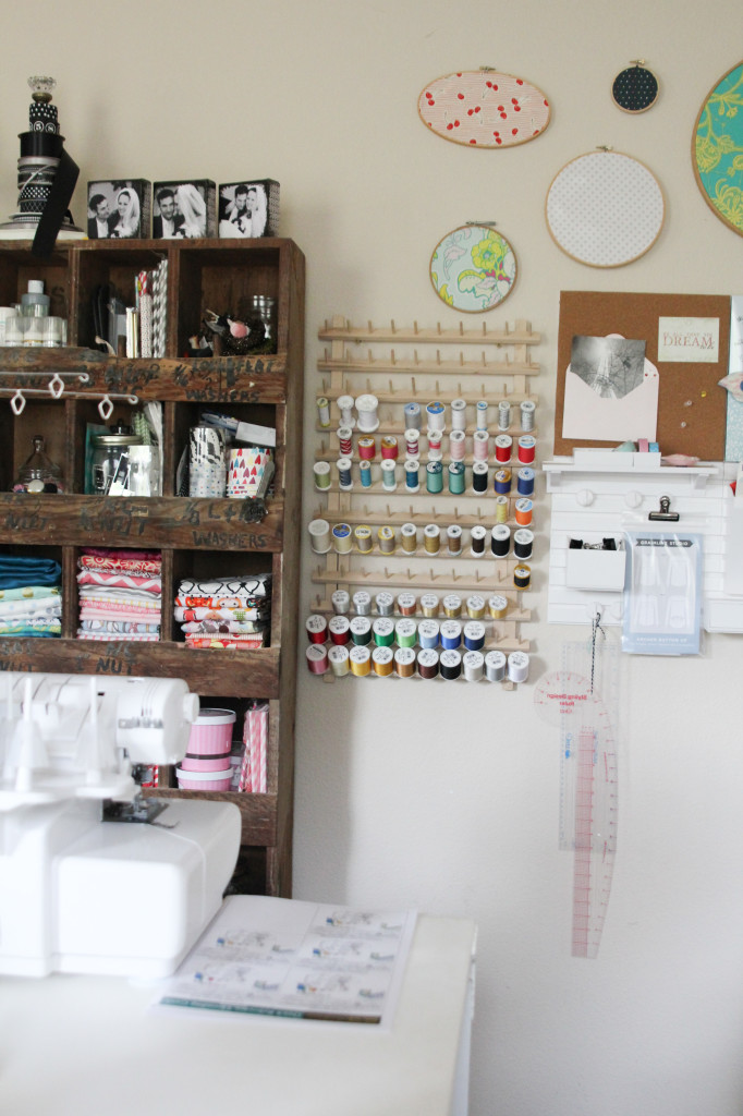 Tips for organizing your craft room