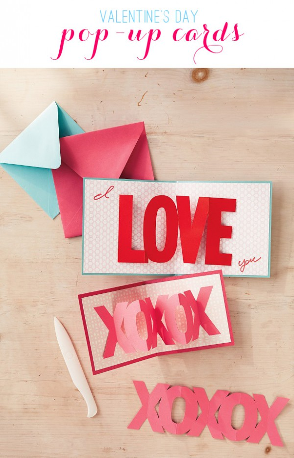 Valentine's Day Pop Up Cards from The Celebration Shoppe