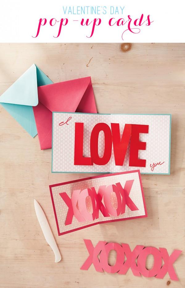 Valentine's Day Pop Up Cards from The Celebration Shoppe