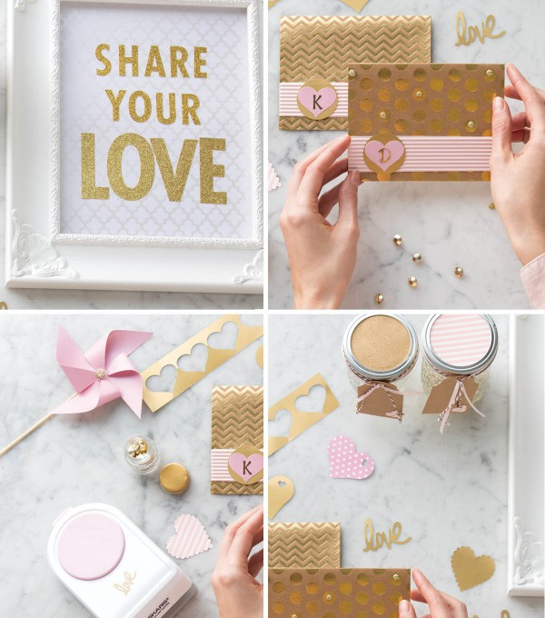 DIY Valentine's Day Party Decor