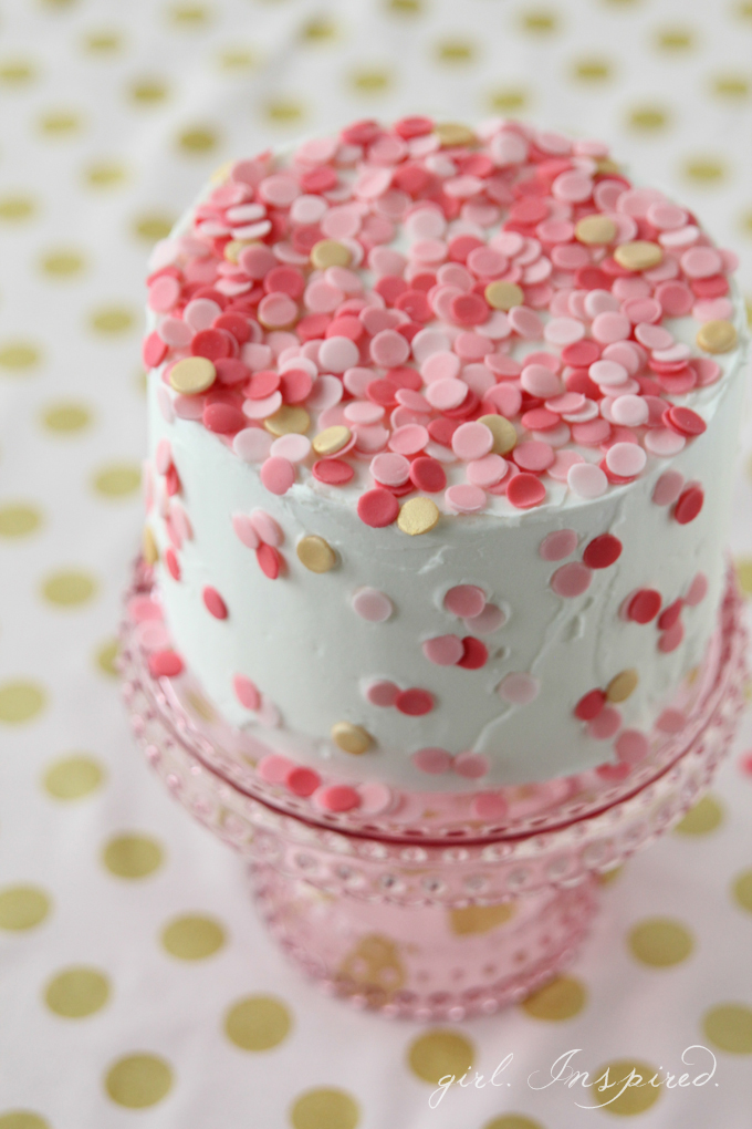 Yummy! DIY Confetti Cake from the Jo-Ann blog The Creative Spark