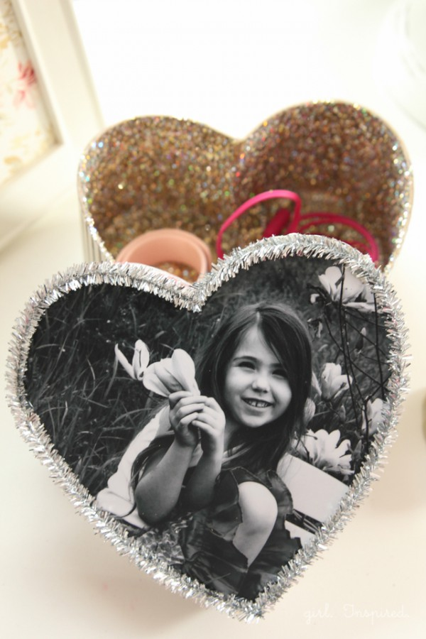DIY Valentine's Day Trinket Box from The Girl Inspired