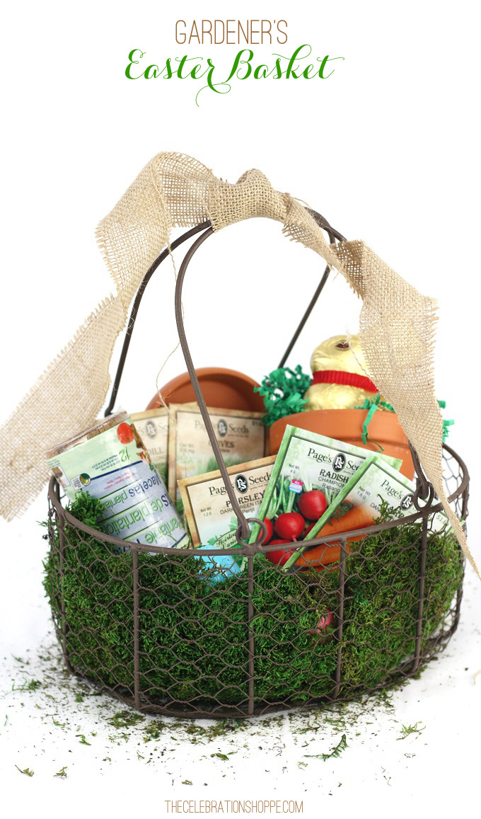 Gardener's Themed Easter Basket