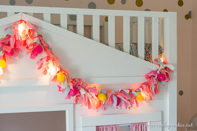 DIY Easter Rag Garland