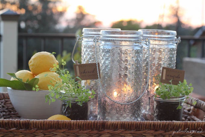 Make Your Own Mercury Glass DIY // Learn how from TheGirlInspired.com on The Creative Spark