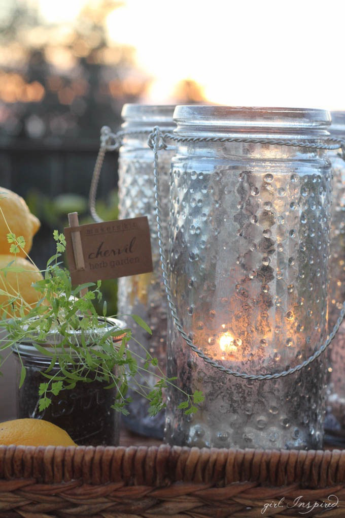 Beautiful Faux Mercury Glass DIY // Featured on The Creative Spark