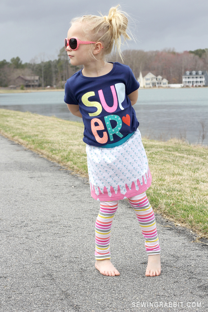 Cute DIY Easter Skirt Pattern