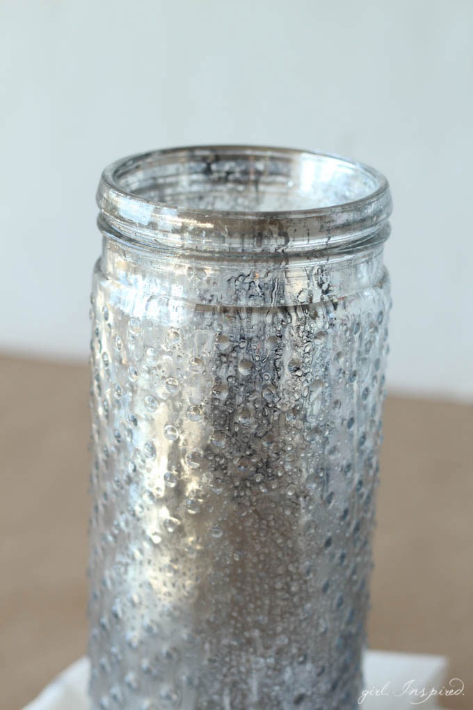 You can MAKE THIS!!! // DIY Mercury Glass Tutorial on The Creative Spark