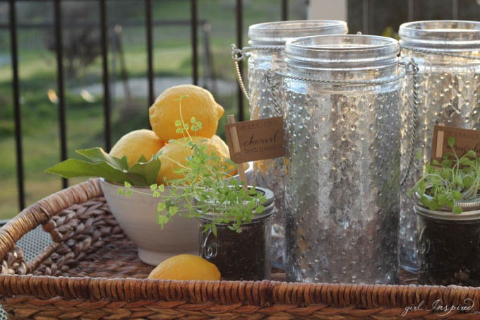 Easy DIY to upgrade your home // Make your own Mercury Glass on The Creative Spark