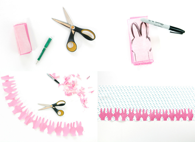 How to Make a DIY Easter Peep Skirt // Cute and FREE DIY Skirt Pattern