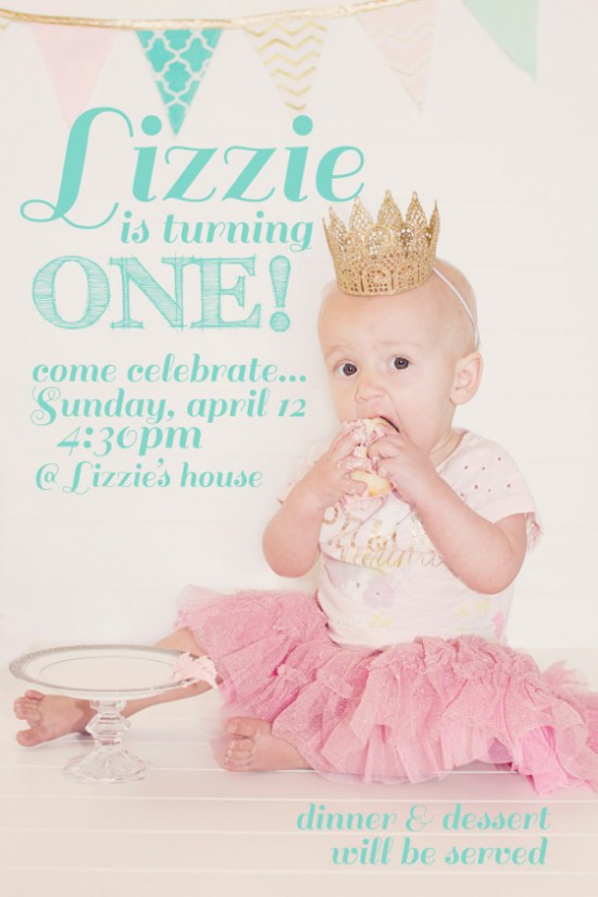 DIY Party Invite by Heidi Swapp // Supplies available at Joann.com