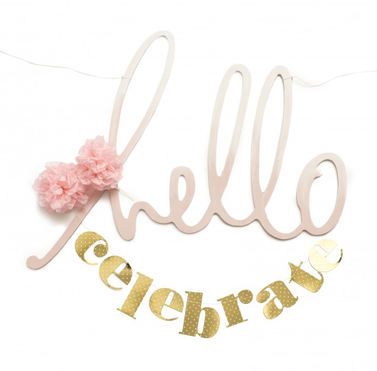 DIY Party Garland from Heidi Swapp // DIY Party Decor Ideas on Joann.com