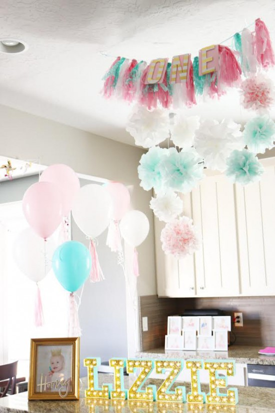 DIY Party Ideas from Heidi Swapp // Themed Party DIY on Joann.com // 1st Birthday Party