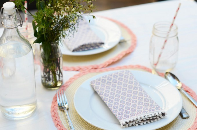 DIY Upcycled Napkins