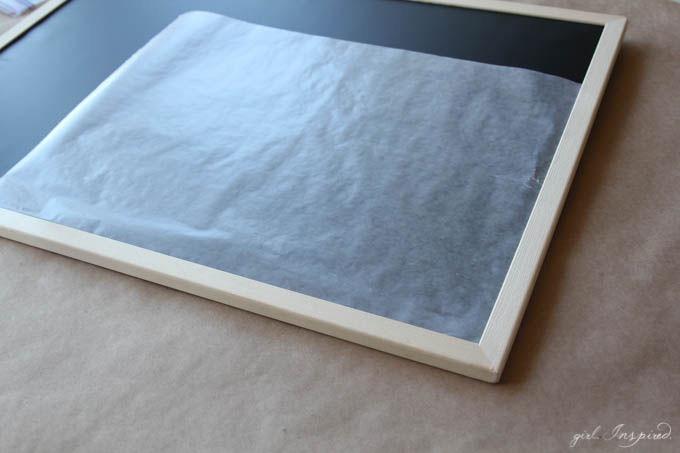 DIY Playroom Chalkboard // Cute DIY Idea for your Child's Playroom