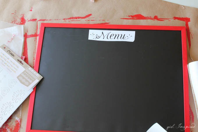 DIY Playroom Chalkboard // Cute DIY Idea for your Child's Playroom // Chalk Finish Paint DIY