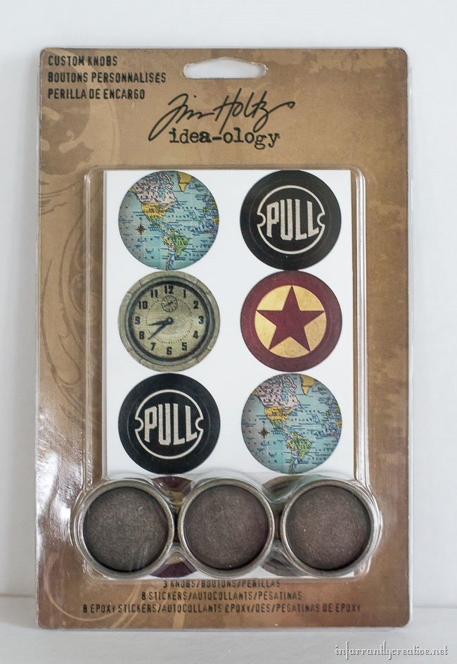 DIY Drawer Knobs | Tim Holtz Custom Knobs
