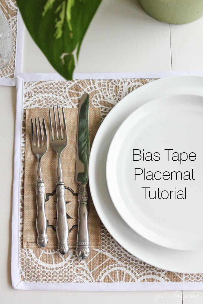 DIY Burlap Placemats // Home Entertaining DIY Project for Place Settings // Jo-Ann IdeaMarket