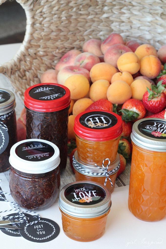 DIY Mason Jam Jar Gift // Jam Favor