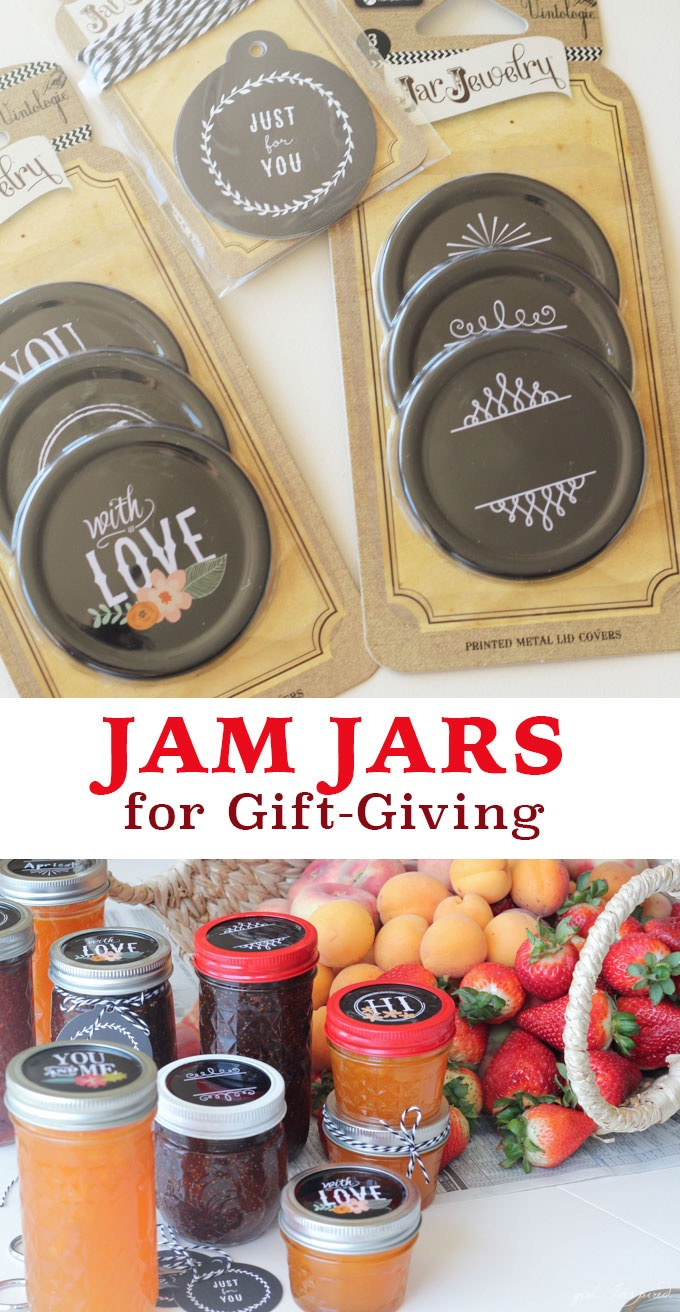 Jam Jars for Gift Giving at blog.joann.com