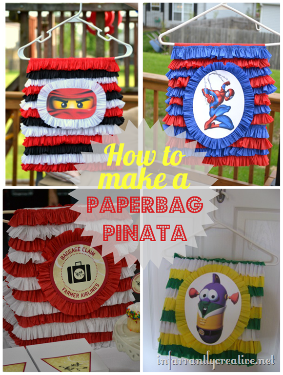 How to Make a Paperbag Pinata
