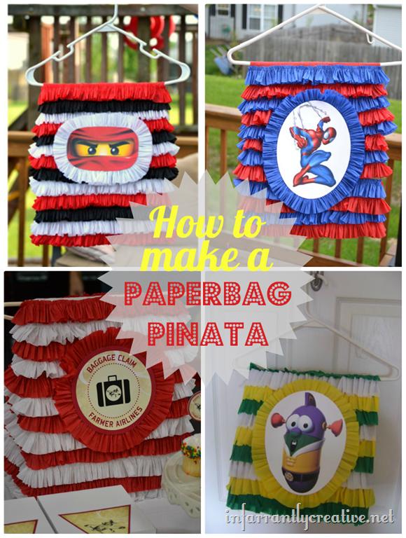 How to Make a Paperbag Pinata