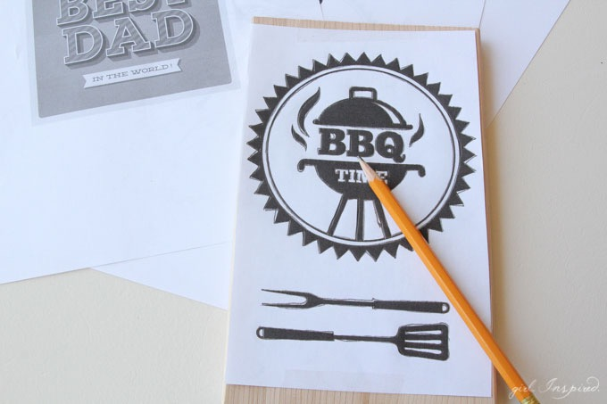 DIY Father's Day Gift Idea // Fun BBQ Gift Idea for Dad from joann.com/Blog