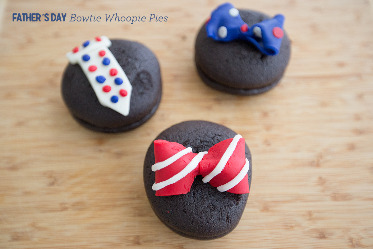 Father's Day Bowtie Whoopie Pies