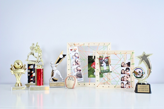 We Made It by Jennifer Garner String Art Photo Frames Kit.