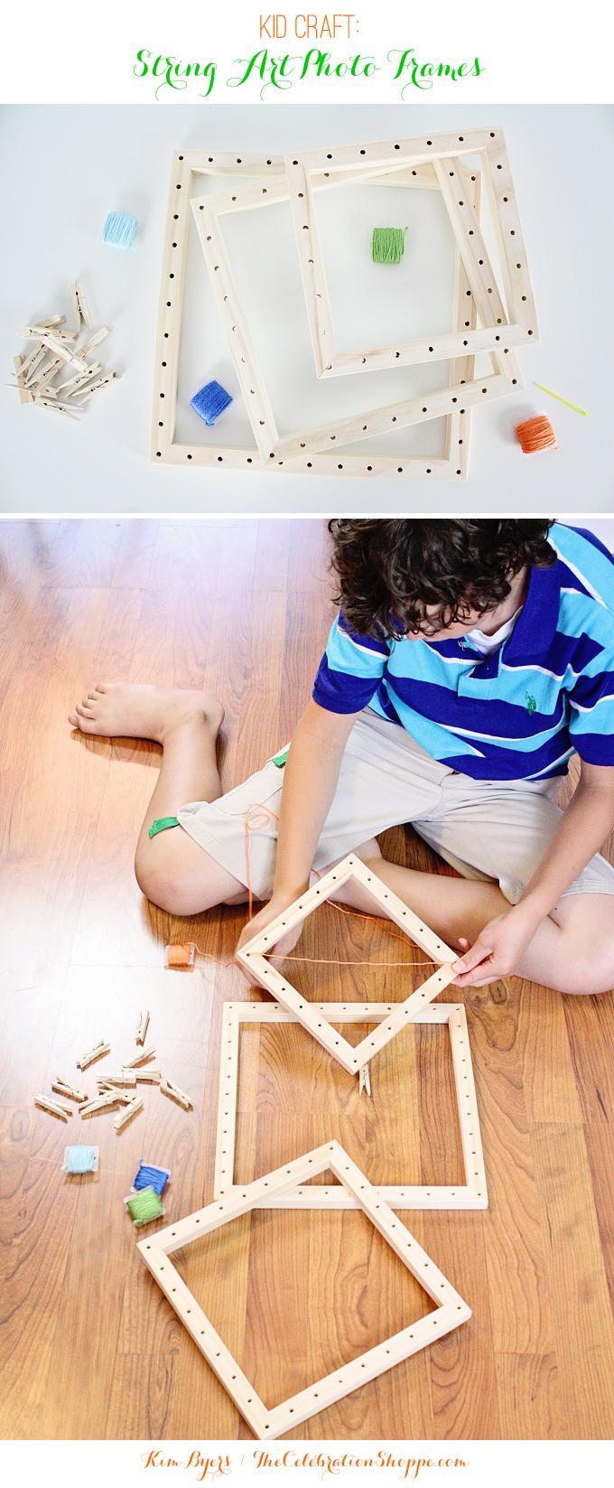 We Made It by Jennifer Garner String Art Photo Frames Kit.