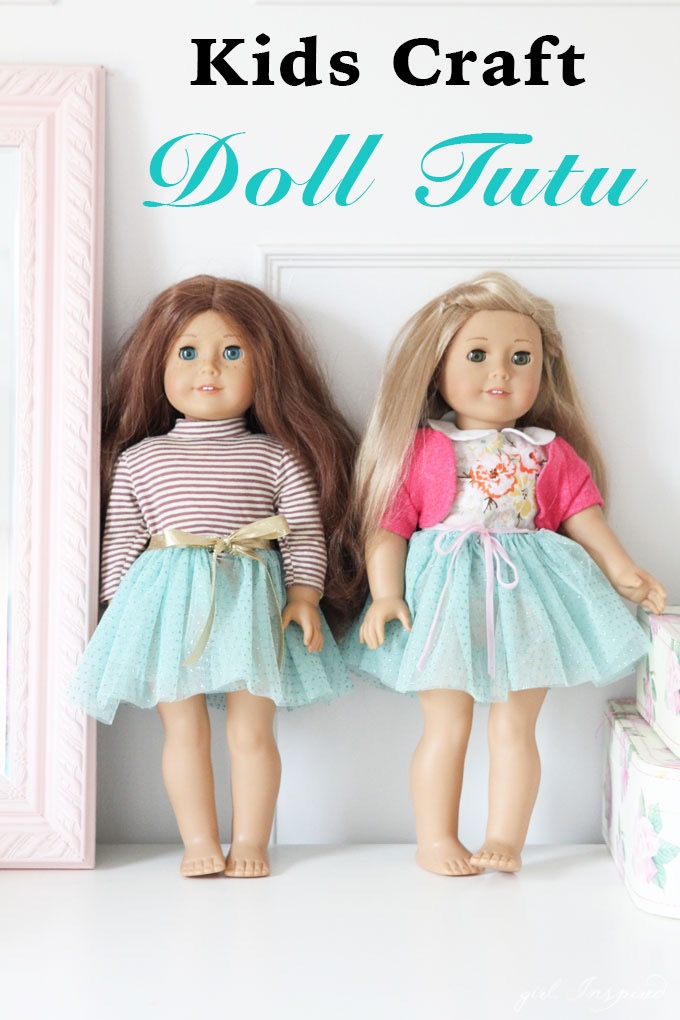 DIY Doll Tutu // Kids Crafts