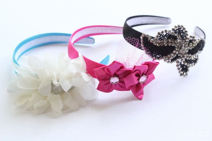 Five Minute DIY Headbands