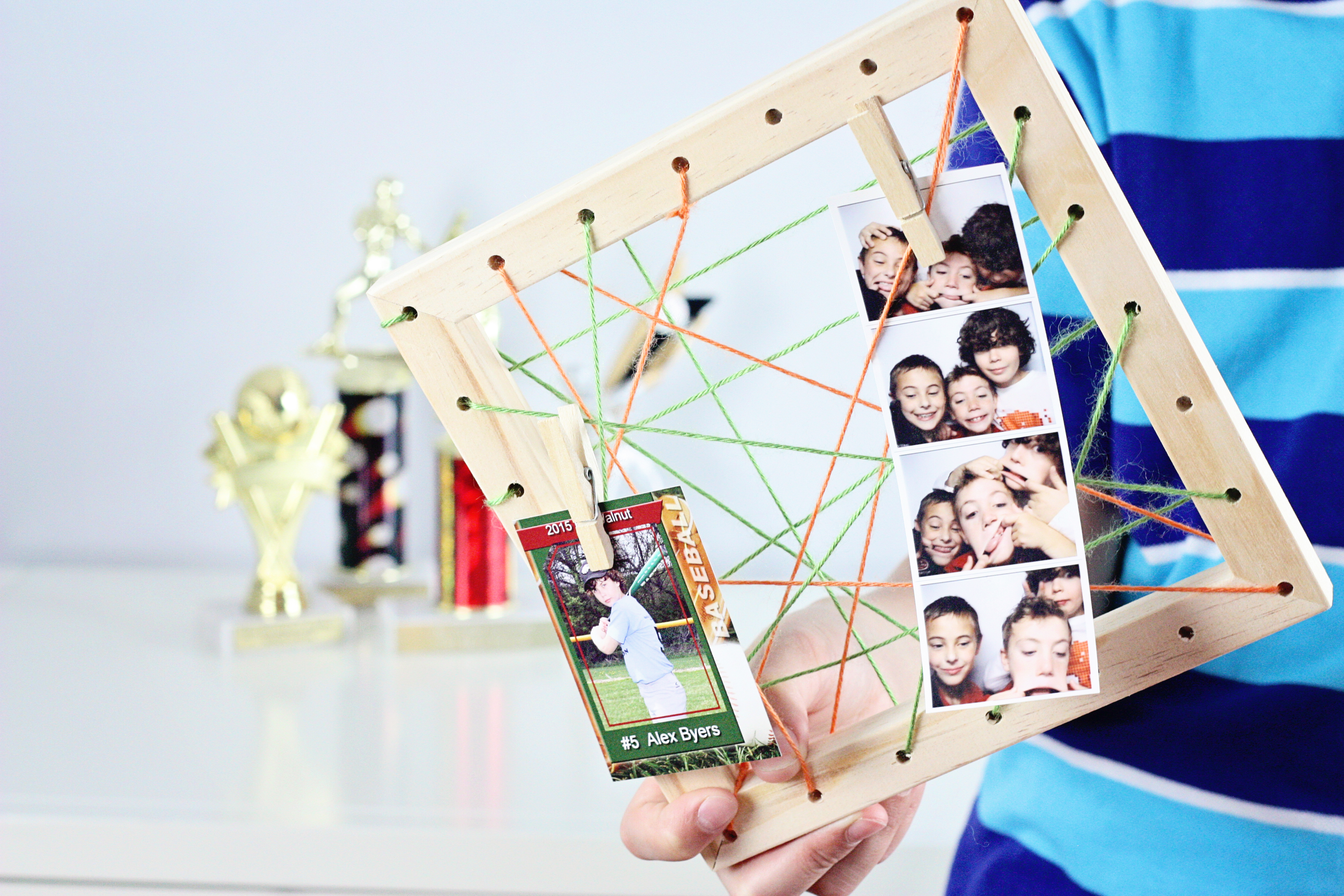 We Made It by Jennifer Garner – String Art Photo Frames