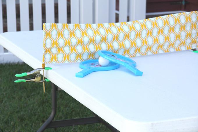 Fabric Ping Pong Net