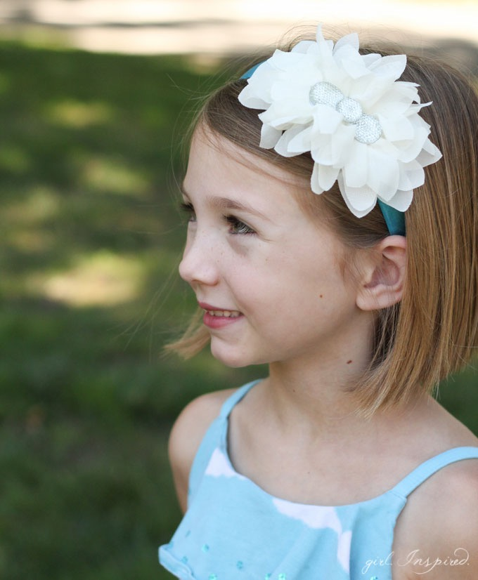 5 Minute Headband Tutorial // Easy Headband DIY