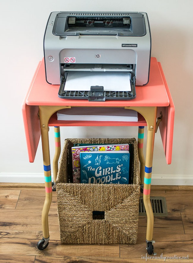 Upcycled Typewriter Table
