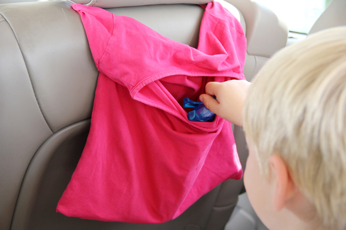 T-Shirt Car Organizer