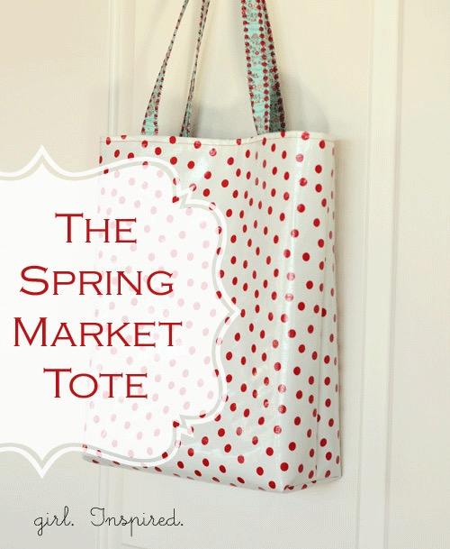 Spring Market Tote