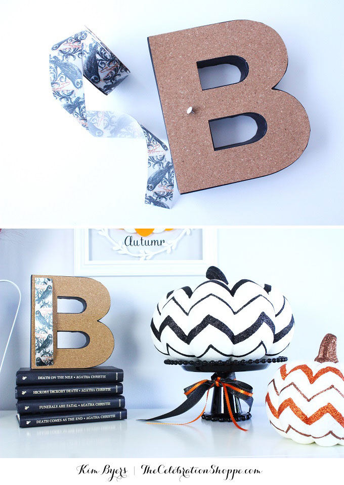 How To Make A Welcome Autumn Sign and Decorate Your Entryway For Fall
