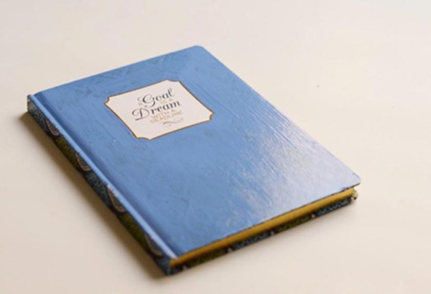 Easy Embellished Notebooks
