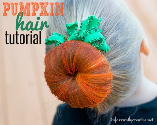 Pumpkin Hair Tutorial